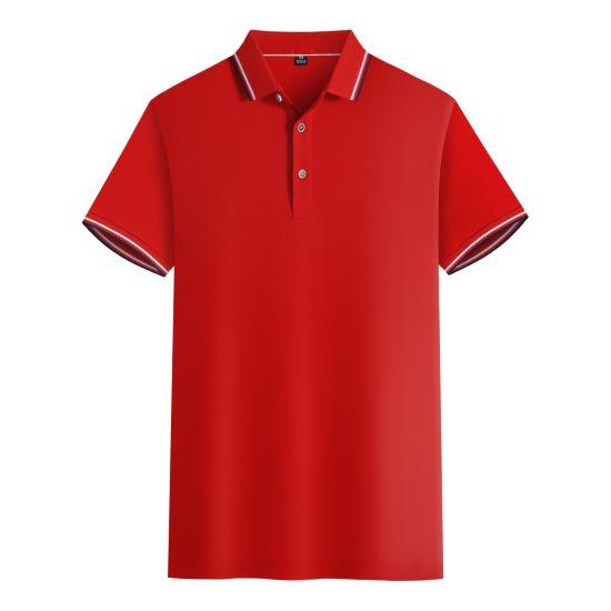Custom Fashion Polo T-Shirt Embroiderable Logo