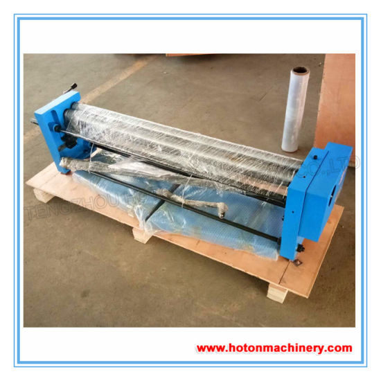 Plate Slip Roll Machine (Manual Slip Roller W01-2X1250 W01-2X1000 W01-2X610) pictures & photos