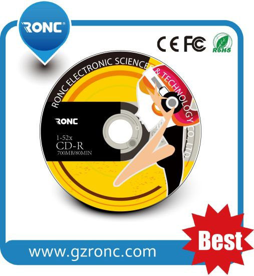 Ronc Brand Blank CD-R with Grade a+ Quality