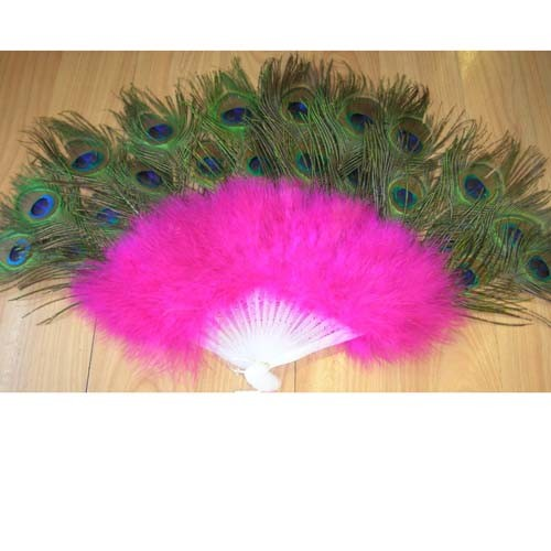 High Quality Feather Promotional Hand Fan pictures & photos