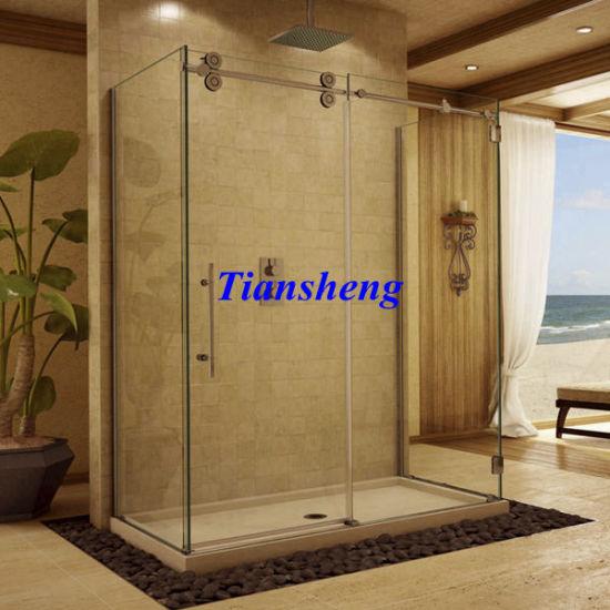 China Bathtub Shower Attachment/Sliding Glass Frameless Shower Doors ...
