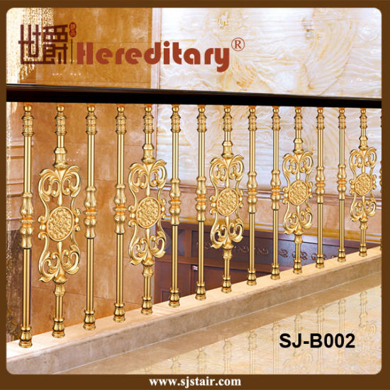 Luxury Design Casting Aluminum Stair Balustrade for Hotel and Villa (SJ-B002) pictures & photos