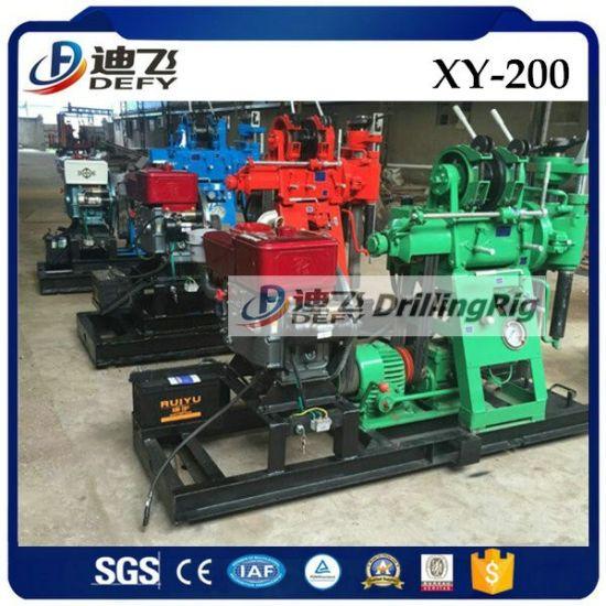 China 200m Mini Diesel Engine Cheap Water Drill Machine For Sale
