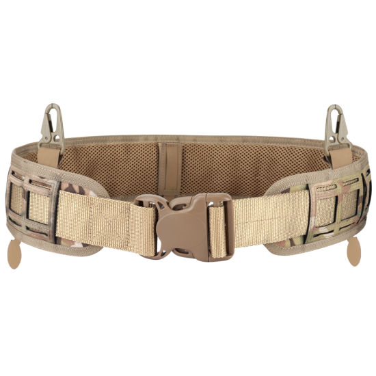 Tactical Outdoor Adjustable Nylon Waist Belt Strap For Molle Bag Pouch Hunting