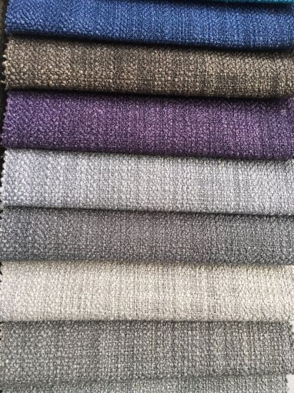 High Quality Polyester Plain Woven Fabric (R043-B) pictures & photos