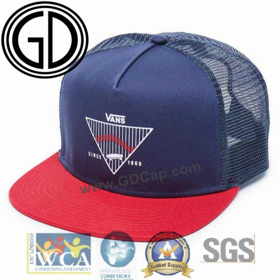 ac01bc1967d China Fashion Design Foam Polyester Snanpack Trucker Cap with Custom ...