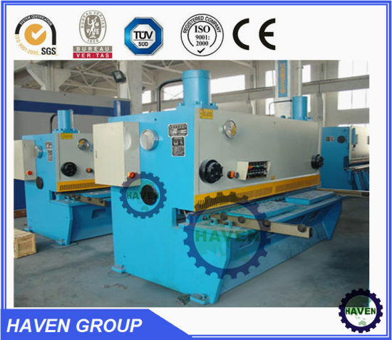QC11y-10X3200 Hydraulic Guillotine Shearing Machine, Steel Plate Cutting Machine pictures & photos