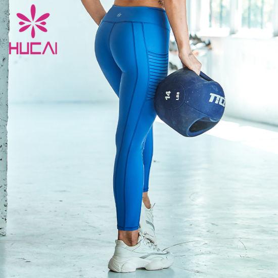 Custom Sexy Yoga Pants Custom Logo Long Trousers Women Tight Leggings