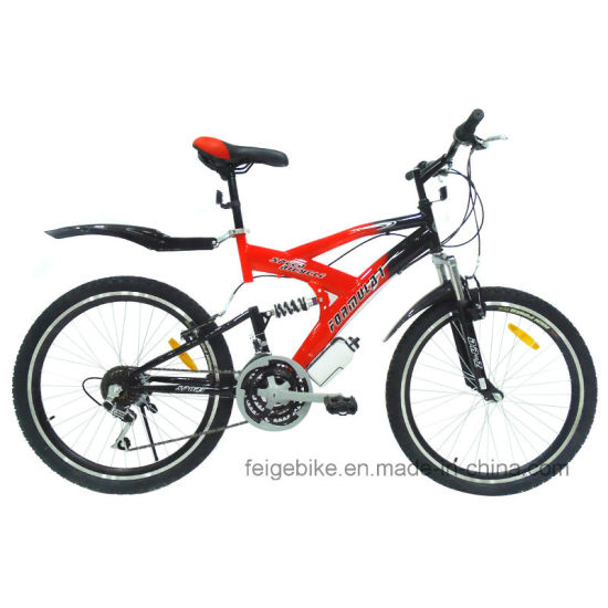 "18 Speed 24""/26"" Full Suspension Mountain Bike (FP-MTB-FLSP002) pictures & photos"