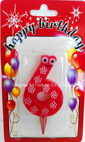 Hot Sale Birthday Cake Candle for Event Decor pictures & photos
