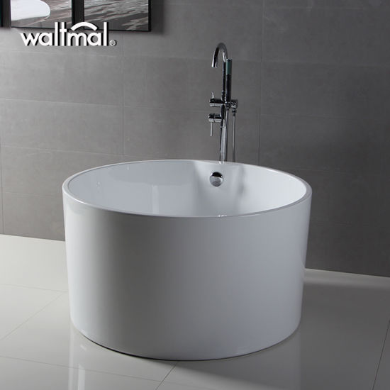 china high quality round deep acrylic freestanding bathtub - china