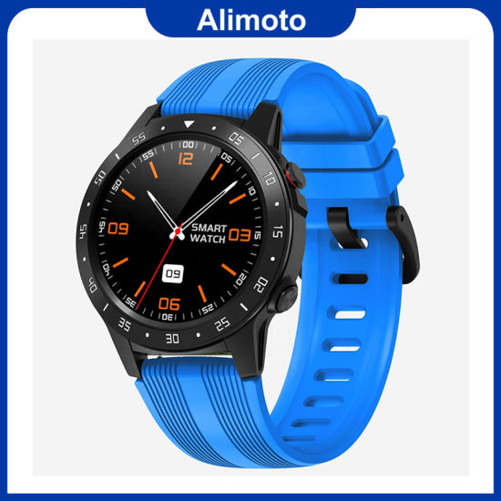 Swm5s Phone Smartwatch Heart Rate Monitor with GPS and Compass