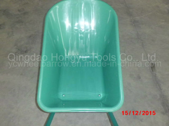 Africa Hot Sale Painted Wheel Barrow (WB 6408) pictures & photos