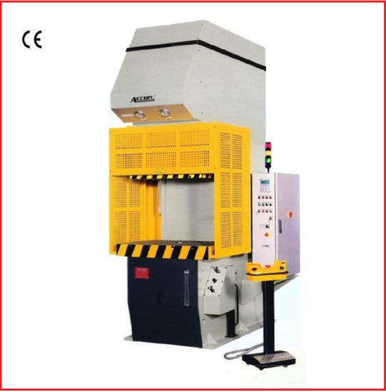 China 16 Tons C Frame Hydraulic Press with Drawing, Deep Drawing ...