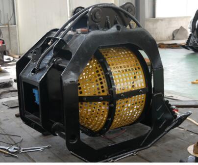 China 360 Degree Rotating Screen Bucket for Excavator