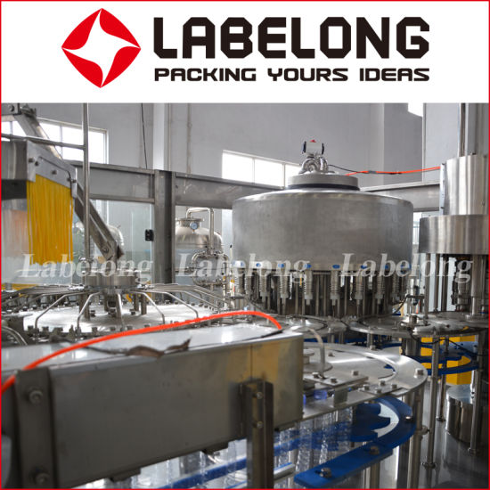 Small Capacity Automatic Pulp Juice Beverage Filling Capping Packing Machine/Machinery pictures & photos