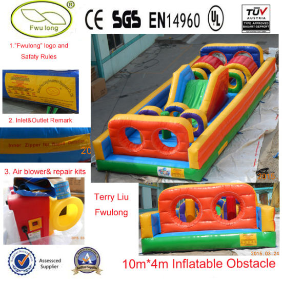 Cheap Inflatable Obstacle Course Rental pictures & photos