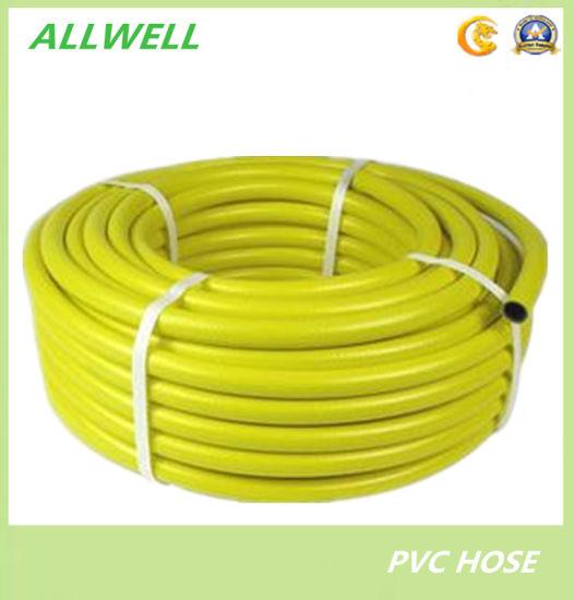 China Yellow PVC Plastic Flexible Water Irrigation Garden Hose Pipe ...