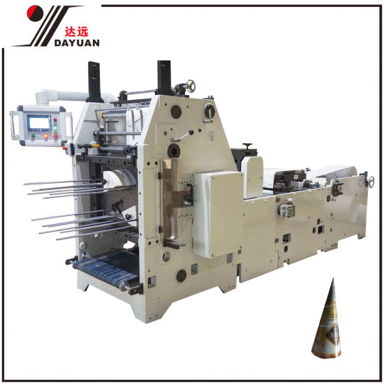 Wholesale Paper Cone Paper Cup Punching Machine for Ice Cream Packaging