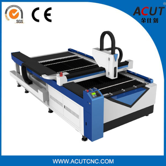 Sheet Metal Fiber Laser Cutting Machine with Cheap Price Acut-1325 pictures & photos