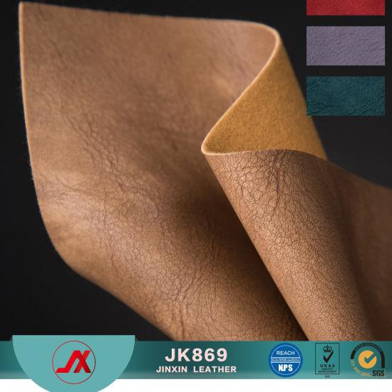 Women′s Retro PVC Leather Decoration Canvas Bag Handbag Leather Material 57c9e78484