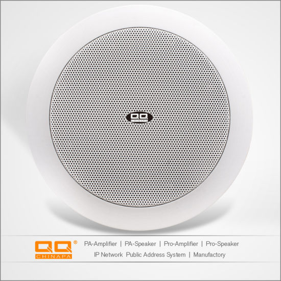 Qqchinapa WiFi Wireless Active in Wall Ceiling Horn PA Audio Mini Speaker