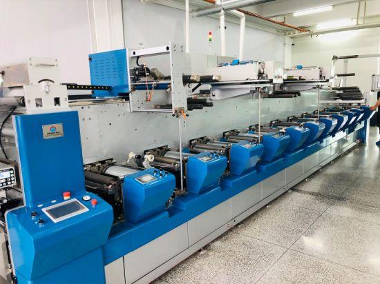 Advanced Design Multifunctional Combination Label and Film Flexo Printing Machine