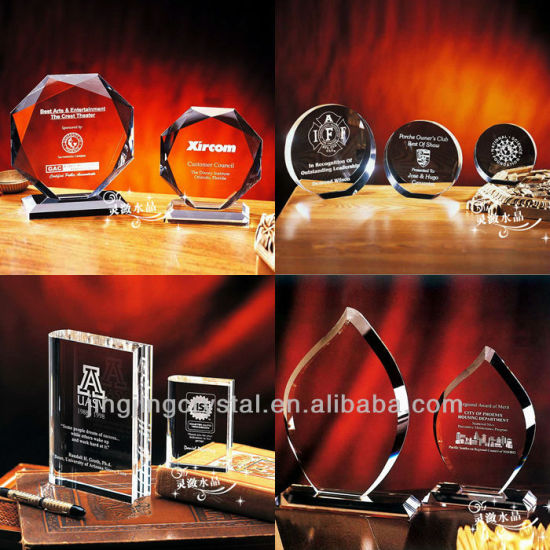 China Supply New Design Hot 3D Laser Engraving Crystal Trophy Award (JD-XK-071) pictures & photos