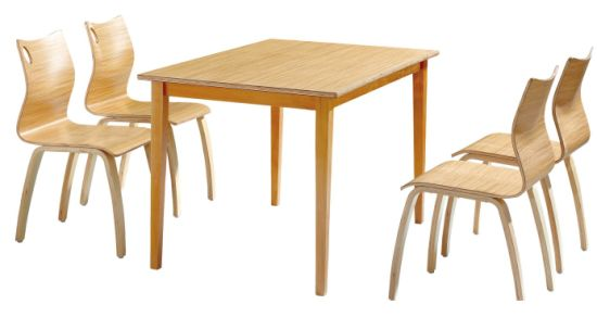 High End Quality Durable Guangzhou Solid Wood Can Dining Table Pictures Photos