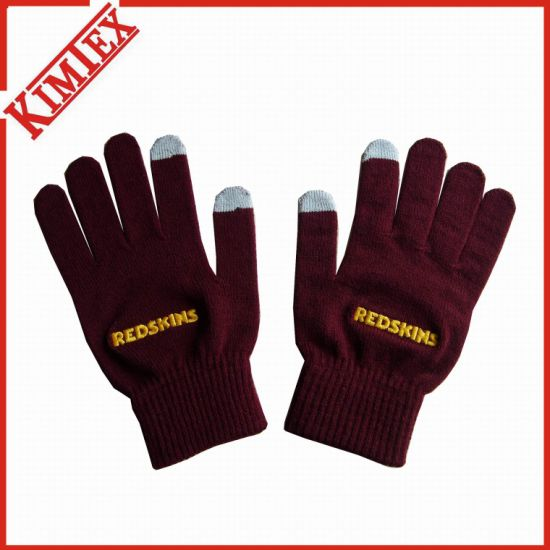 Wholesales Fashion Customized Acrylic Winter Texting Glove