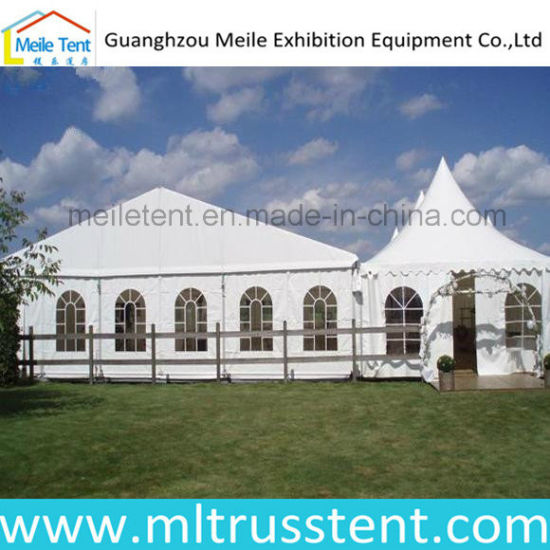 Snowproof PVC Canvas Wedding Party Decoration Marquee Tent