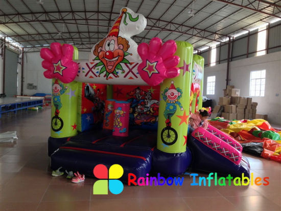 Inflatable Funny Kids Happy Clown Bouncer Trampolin pictures & photos