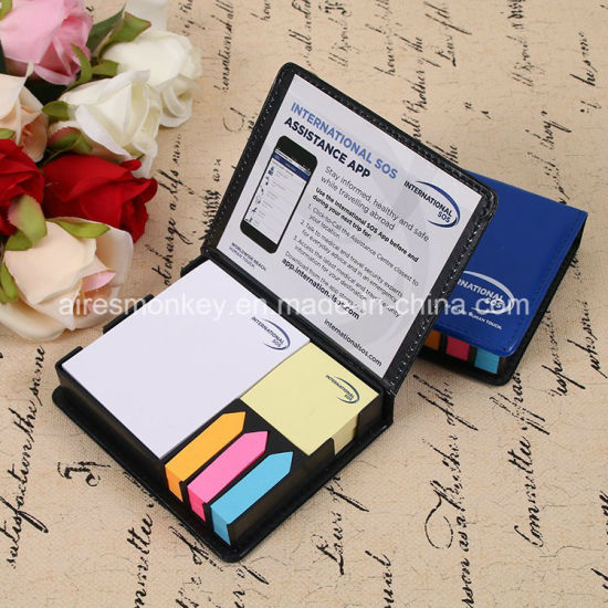 Note Sticky Memo Pad Packed in Cardboard Box