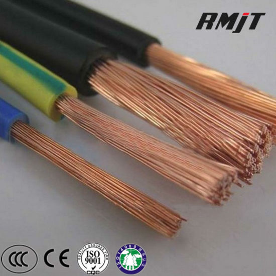 China 450/750V Low Voltage PVC Electric Copper Building Wire Zr-BV ...