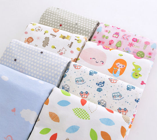 China Stock Lot Baby Flannel Fabric