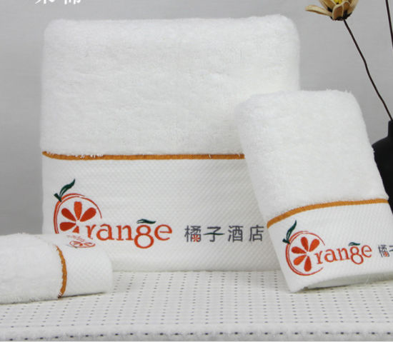 Hotel Bath Towel Set 100% Cotton OEM Welcome pictures & photos