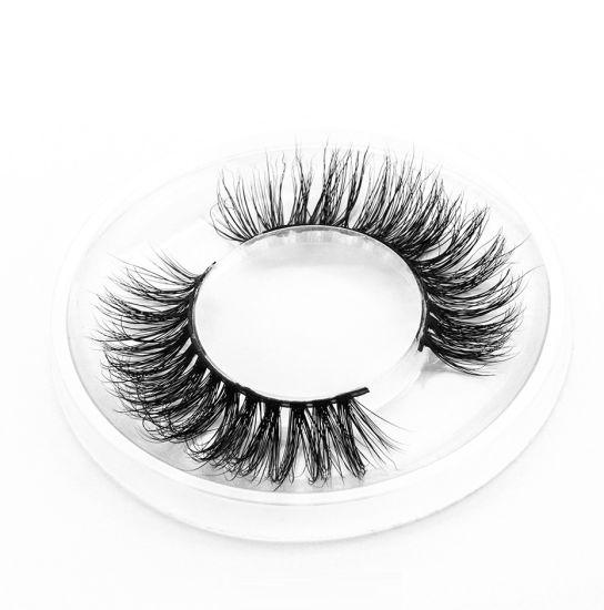 China Wholesale 100% Real 3D Mink Fur Mink Eyelashes - China