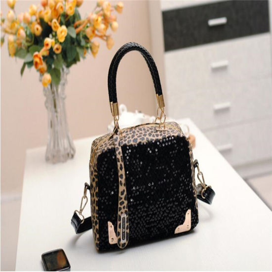 b4766aa872eb Fashion Leopard Print Lady Designer Handbag with Low Price pictures   photos