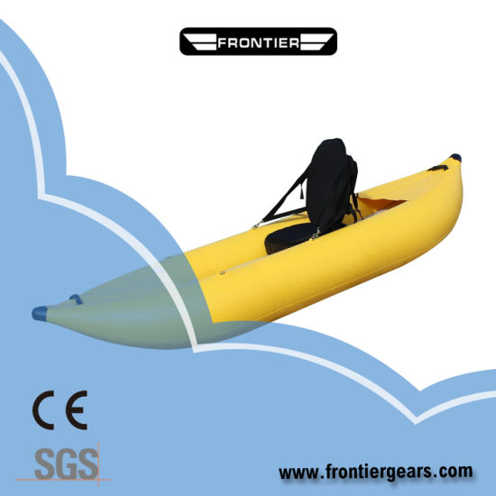 Foldable PVC Inflatable Sea Kayak with Cheap OEM Price for Fishing
