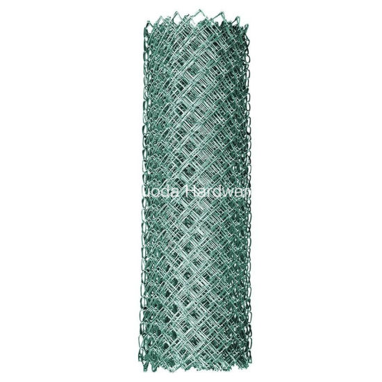 Hot DIP Galvanized Diamond Wire Mesh Chain Link Fence Mesh