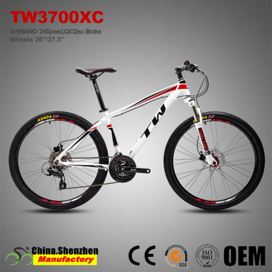 27.5er Shimano M310 24speed Mountian Bike with 17.5inch Aluminum Frame