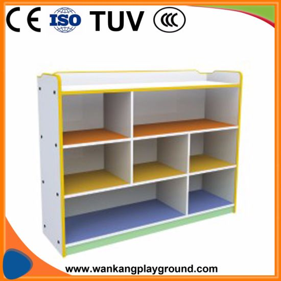 Kindergarden Furniture Bookcase Suit to Kids Made of Plywood (WK-NN71128A) pictures & photos