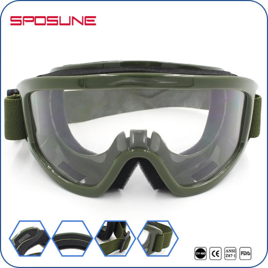 bf60666de04a6 Anti-Bullet Swat Airsoft Goggles Tactical Shooting Glasses Ballistic Eye  Protection pictures   photos