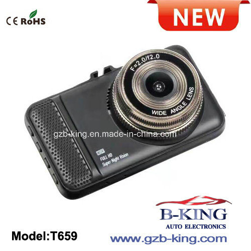 High Definition 1080P LCD Screen Car Dash Camera pictures & photos