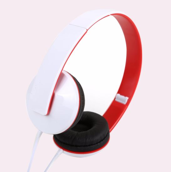 Folding Easy Storage and Colorful Fashion Stereo Headphone with Mic and Remote for Smartphone, Android Phone, iPhone, Huawei, Samsung, Computer, Laptop. pictures & photos