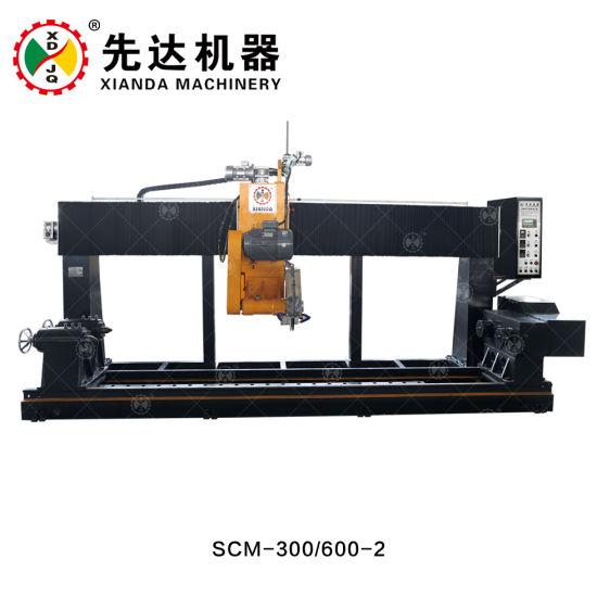 Stone Lathe Cutting Machine with Balustrade Cutter Machine