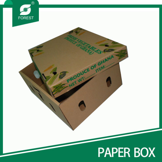 Durable High Grade Waxed Corrugated Boxes pictures & photos