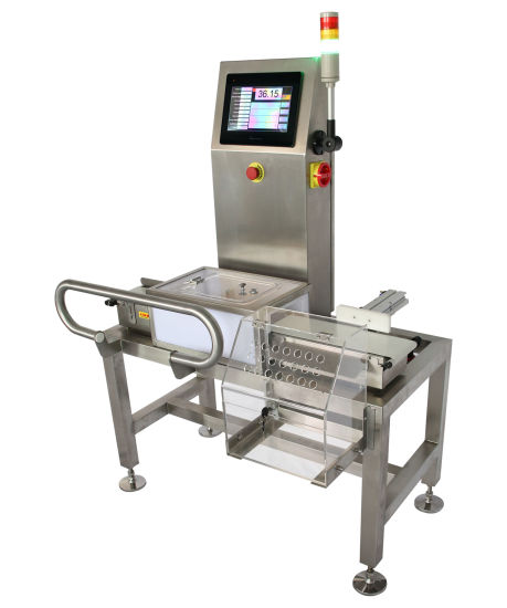 Touch Screen Conveyor Weight Checker pictures & photos