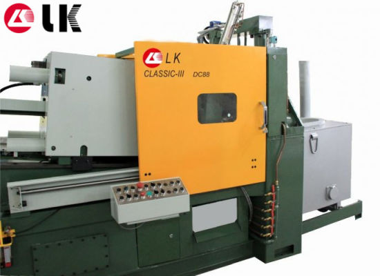 30 Ton Lk Hot Chamber Zinc/Zamak Casting Injection Molding Machine pictures & photos