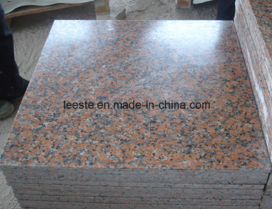 Cheapest G562 Granite Stone Maple Leaf Red Granite Step Vanity Top pictures & photos